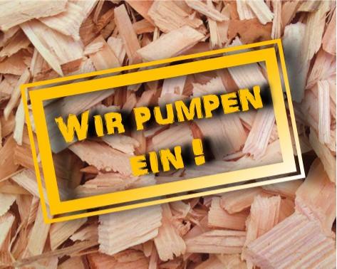 JOA - Alles über die Premium Hackschnitzel und den Pumpcontainer zum Einblasen.